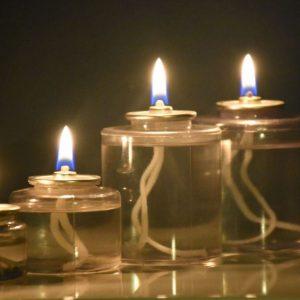 10 saat yanan sıvı mum – Tealight boyutunda (4 adet)